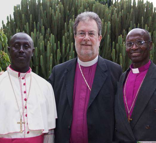 Bishop Nitonde Dieudonne and Bishop Nestor Misigaro.