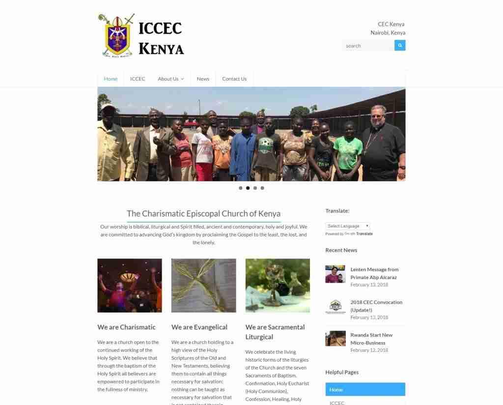 CEC Kenya gets updated Website 3
